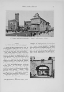 padiglione piacentini 1915
