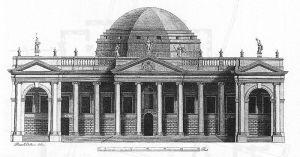 12_1Irlanda_Prospetto del Parlamento_Peter Mazell_ disegno di Rowland Omer